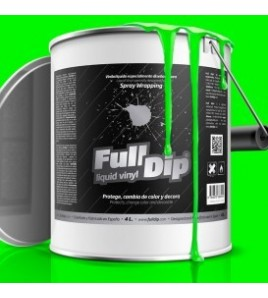FULL DIP VINILO LIQUIDO MONSTER GREEN VERDE FLUOR