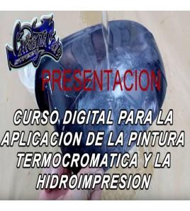 CURSO TUTORIAL ONLINE DE HIDROIMPRESION Y PINTURA TERMOCRONICA