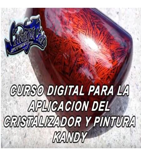 CURSO TUTORIAL DE COMO HACER EL CRISTALIZADOR Y APLICAR EL CANDY