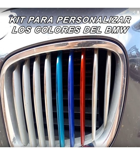 KIT DE COLORES PARA LINEAS DE BMW