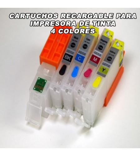 CARTUCHOS PARA IMPRESORA A4 CARTUCHOS RECARGABLES