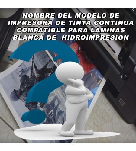 NOMBRE MODELO DE IMPRESORA DE TINTA CONTINUA
