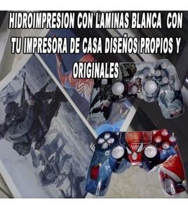 CURSO ONLINE DE IMPRESIÓN CASERA DE LAMINAS BLANCA HIDROIMPRESION IMPRESORA CONTINUA