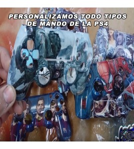 PINTAMOS Y PERSONALIZAMOS MANDO PS4 UNICO Y ORIGINAL