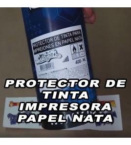 SPRAY PROTECTO DE TINTA PARA PAPEL NATA O PAPEL CALCOMANIA HOJA BLANCA