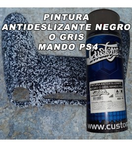 PINTURA GRIS CLARO SPRAY ANTIDESLIZANTE PARA MANDO PS4 NE