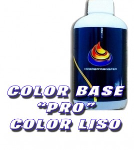 COLOR BASE PRO COLORES LISO PARA HIDROIMPRESION