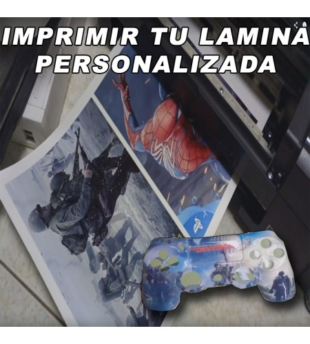 IMPRIMIR LAMINA DE HIDROIMPRESION PERSONALIZADA FORMATO A4