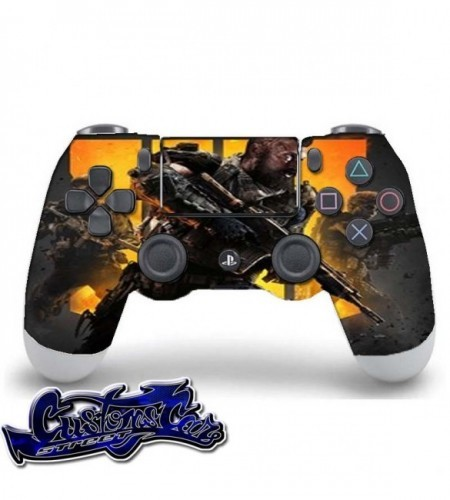 PERSONALIZAR MANDO PLAY PS3 CALL OF DUTY  BLACK OPS 4