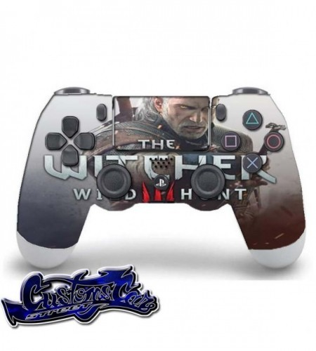 PERSONALIZAR MANDO PLAY PS4 THE WITCHER 3 WILD HUNT